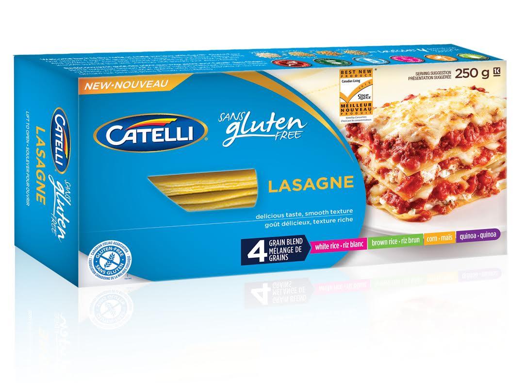 Catelli Gluten Free Lasagne Noodles