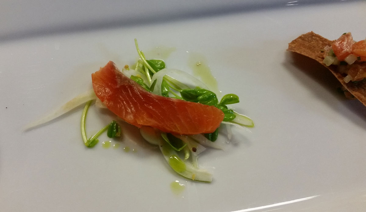Cured Salt Trout by Dale MacKay