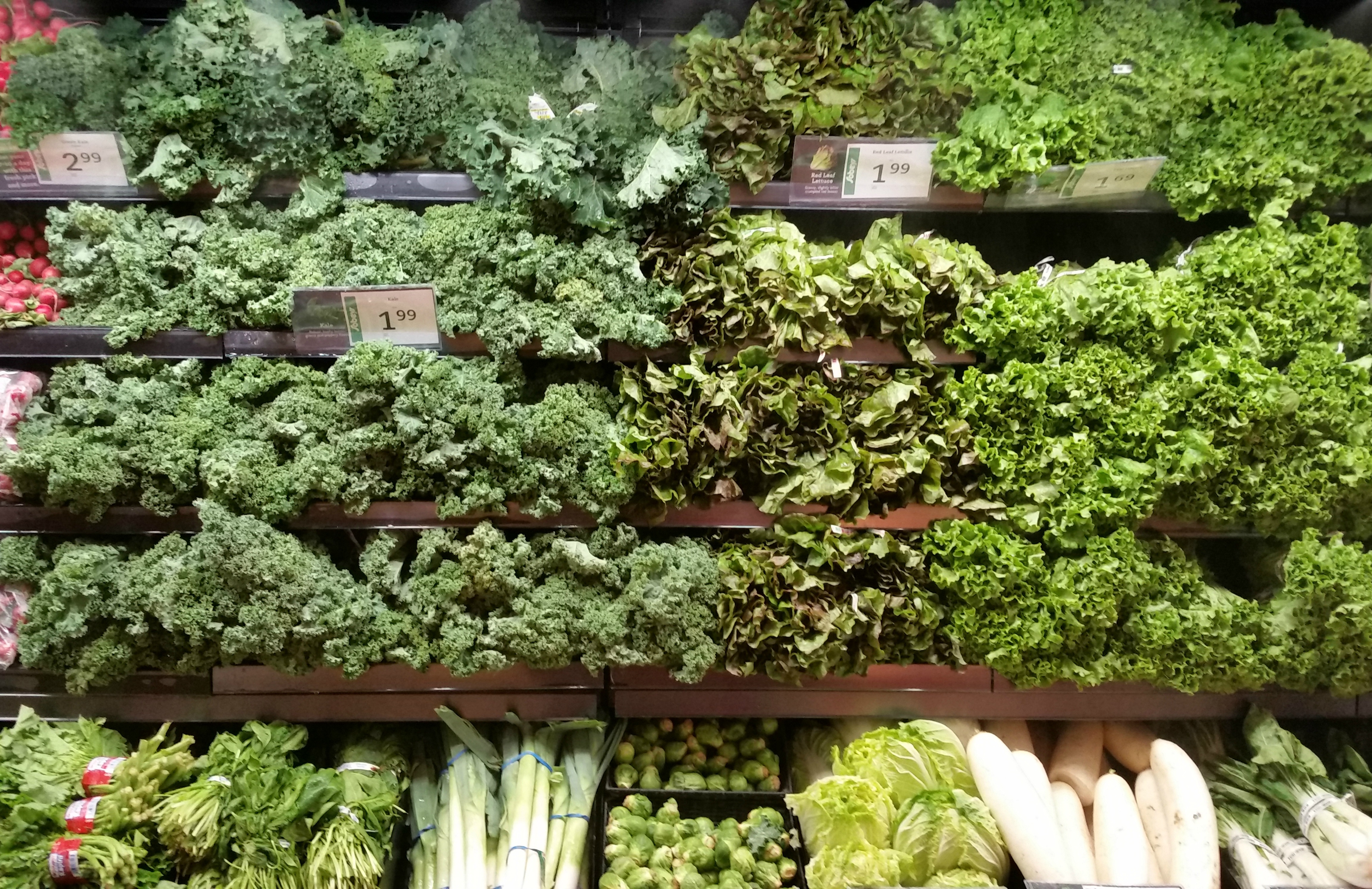 Sobeys Nolan Hill living wall of greens