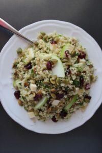 green apple quinoa salad