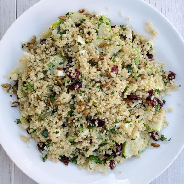 green apple quinoa salad 300