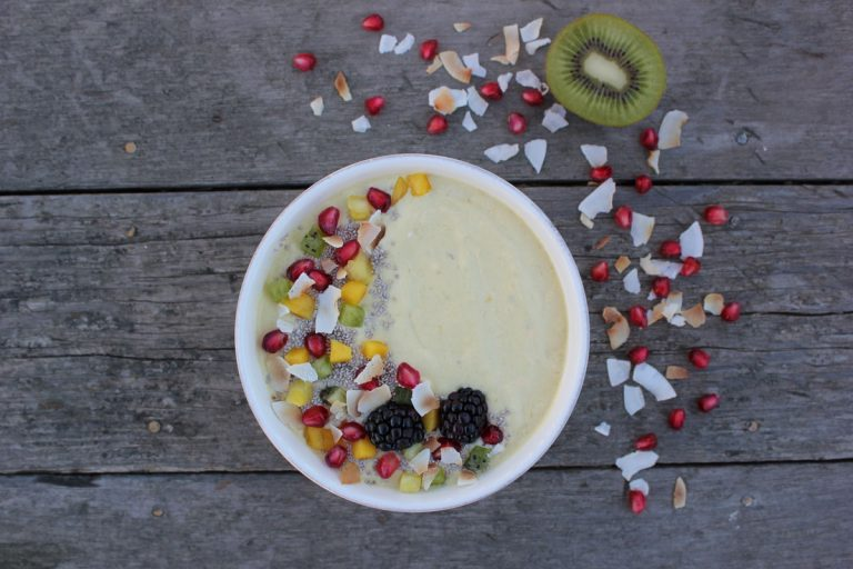 Tropical Salsa Smoothie Bowl