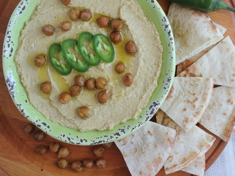 Roasted Jalapeno Hummus
