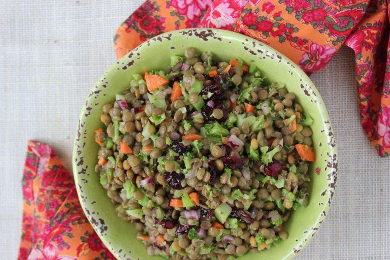 Broccoli Lentil Salad