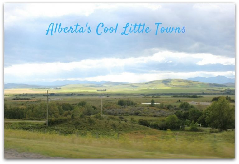 Touring some of Alberta's Cool Little Towns