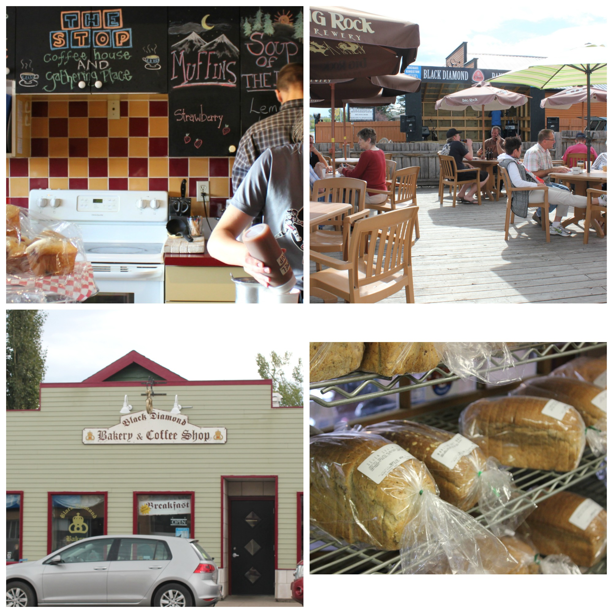 One Stop Coffee Shop and Black Diamond Bakery