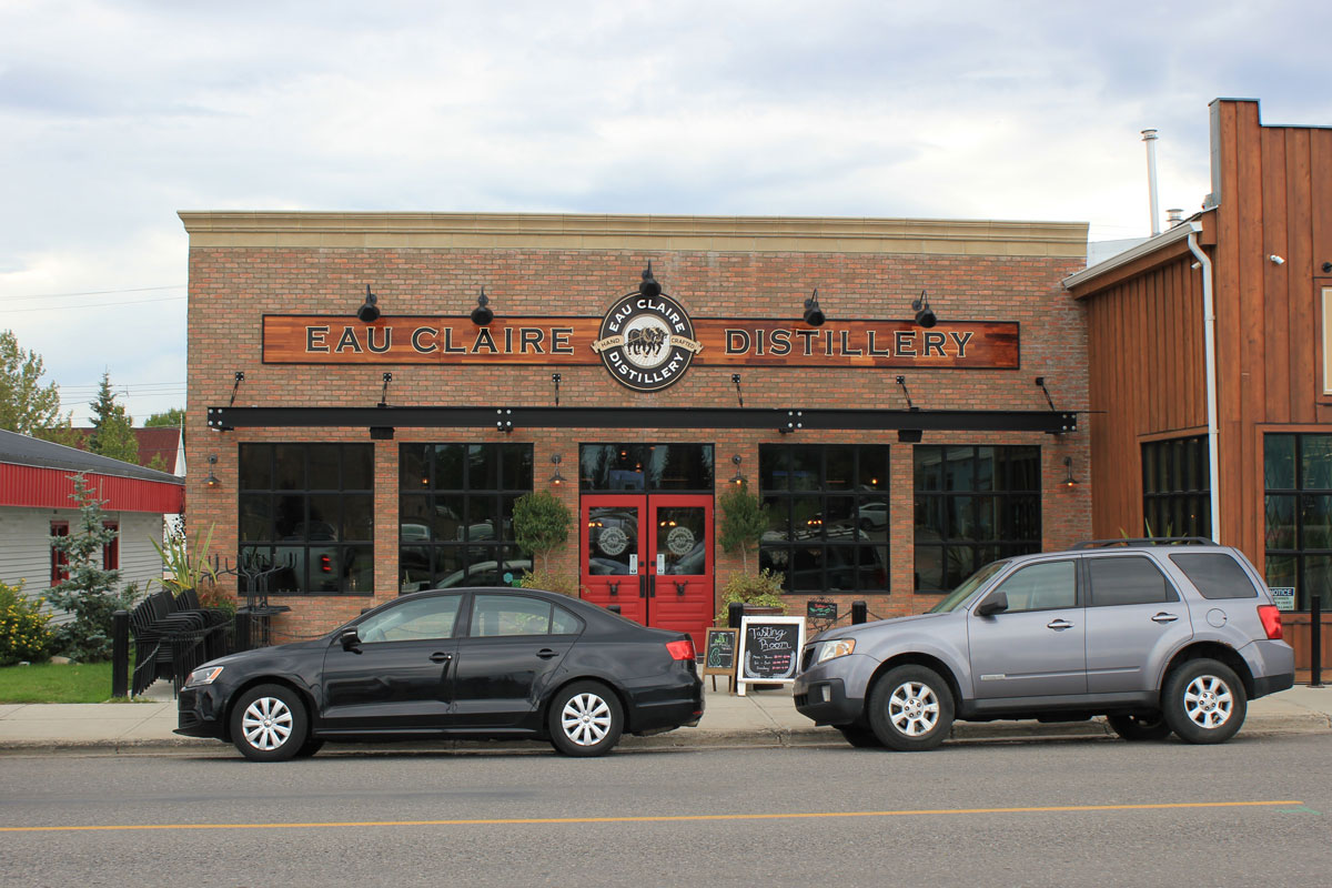 Eau Claire Distillery, Turner Valley