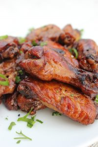 Slow Cooker Teriyaki Wings