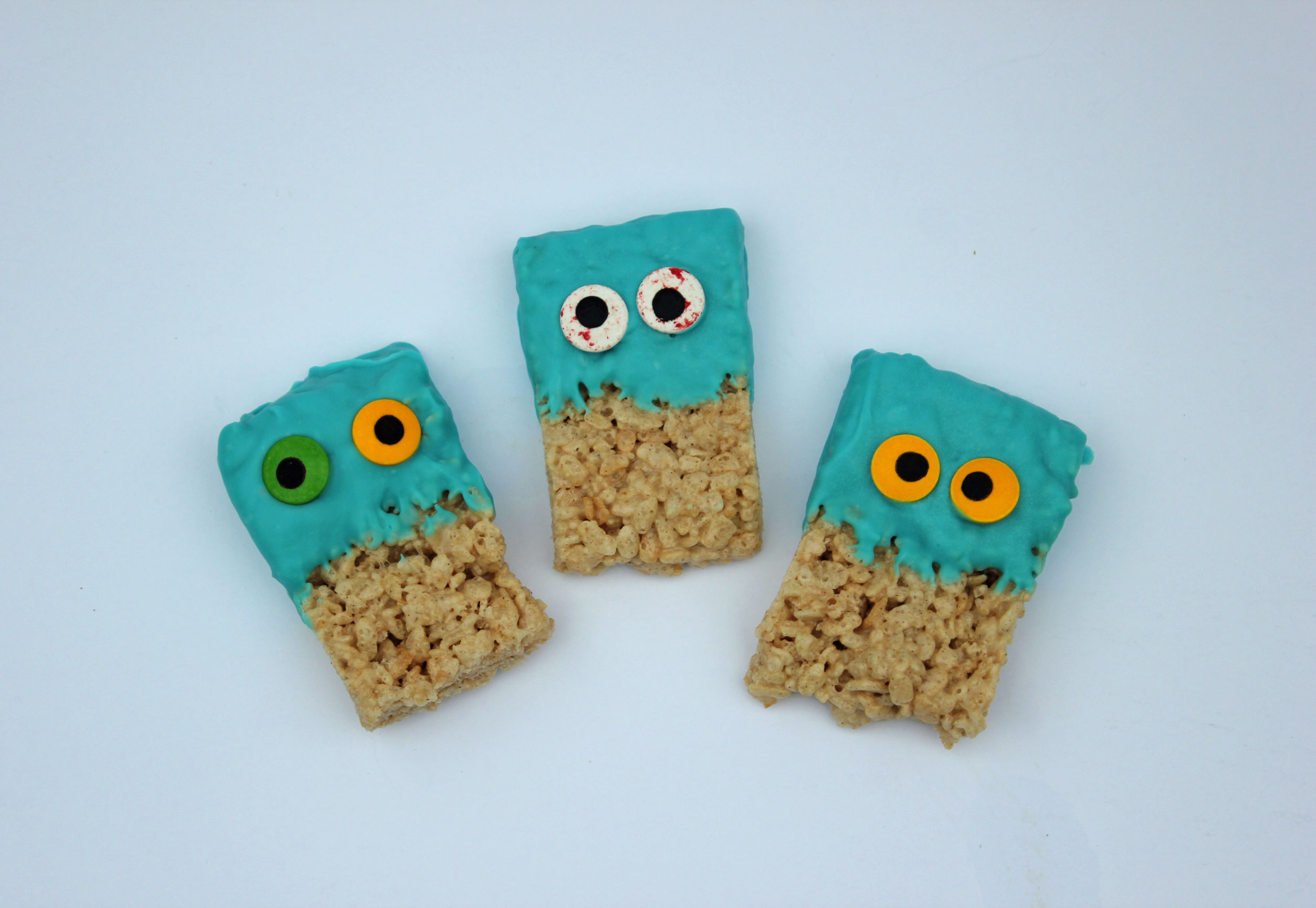 Googly Eyed Rice Krispies