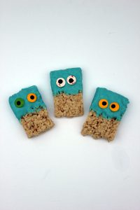 Googly Eye Krispy Treats
