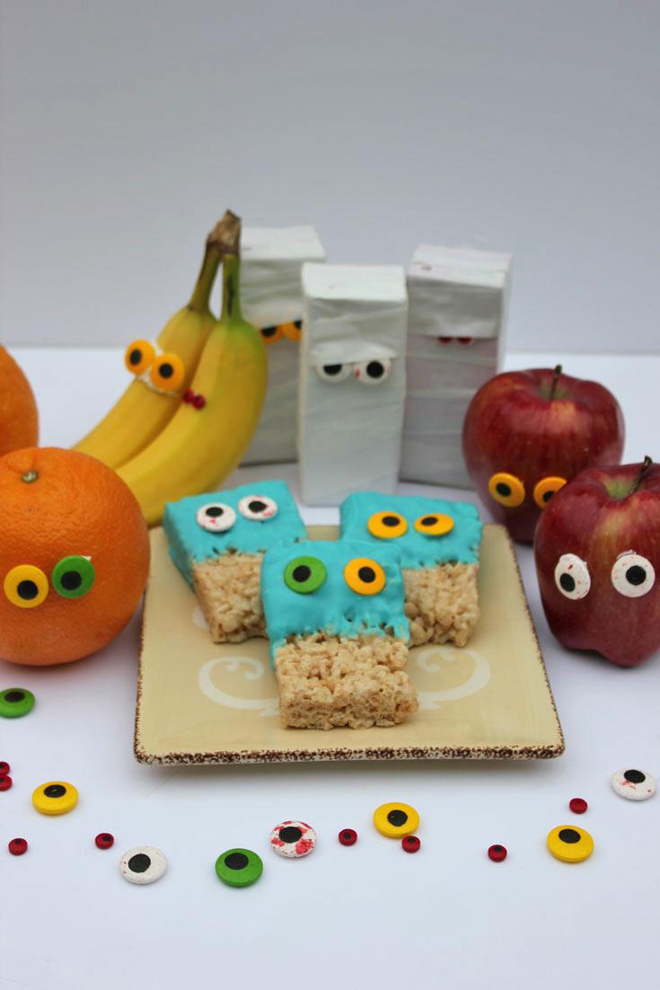 Fun for kids Googly Eye Halloween Treats