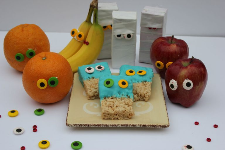 Googly Eye Halloween Treats