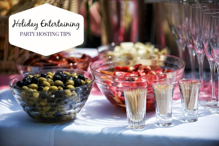 Holiday Entertaining: Party Hosting Tips