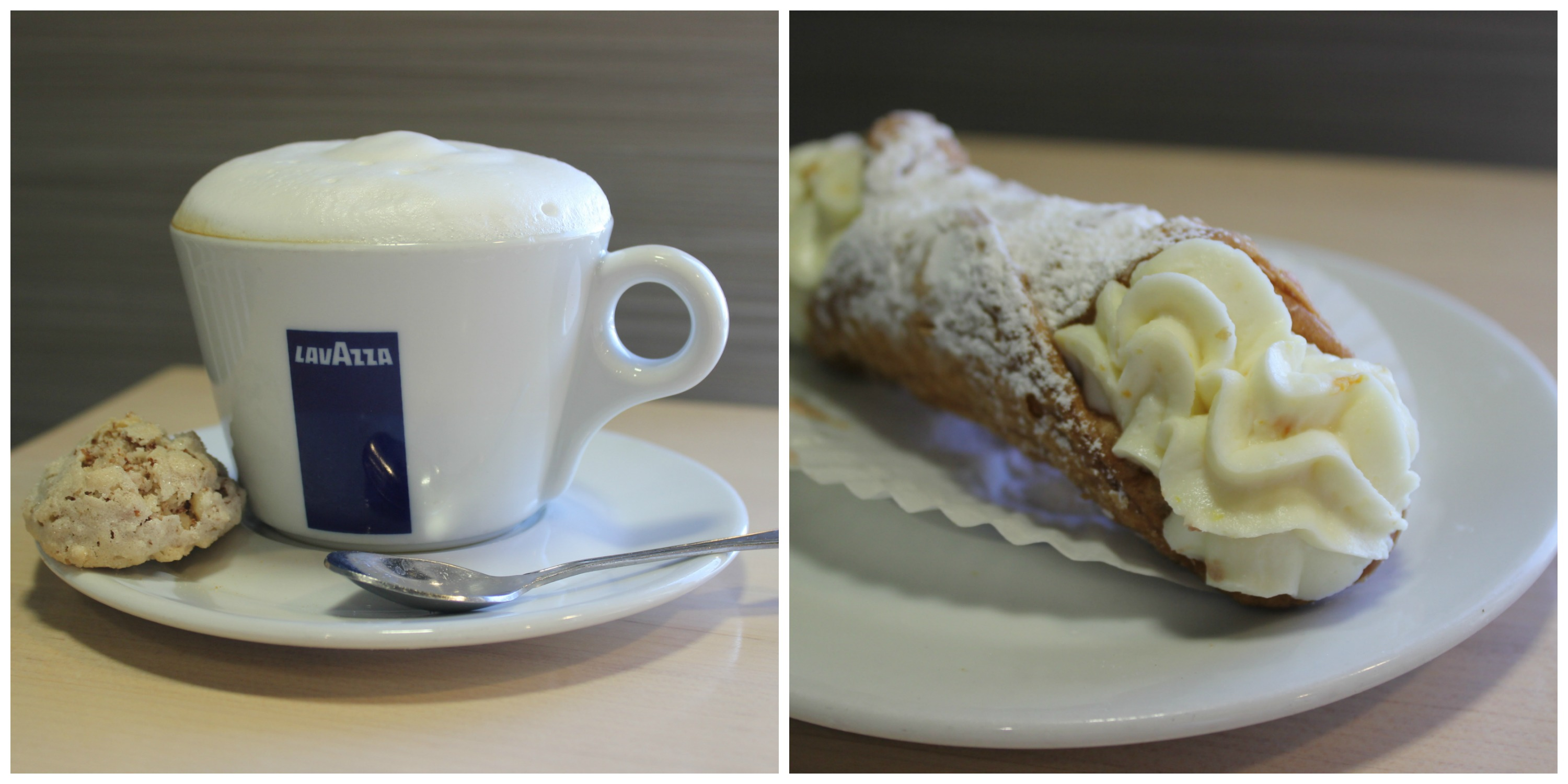 Cappuccino and Cannoli