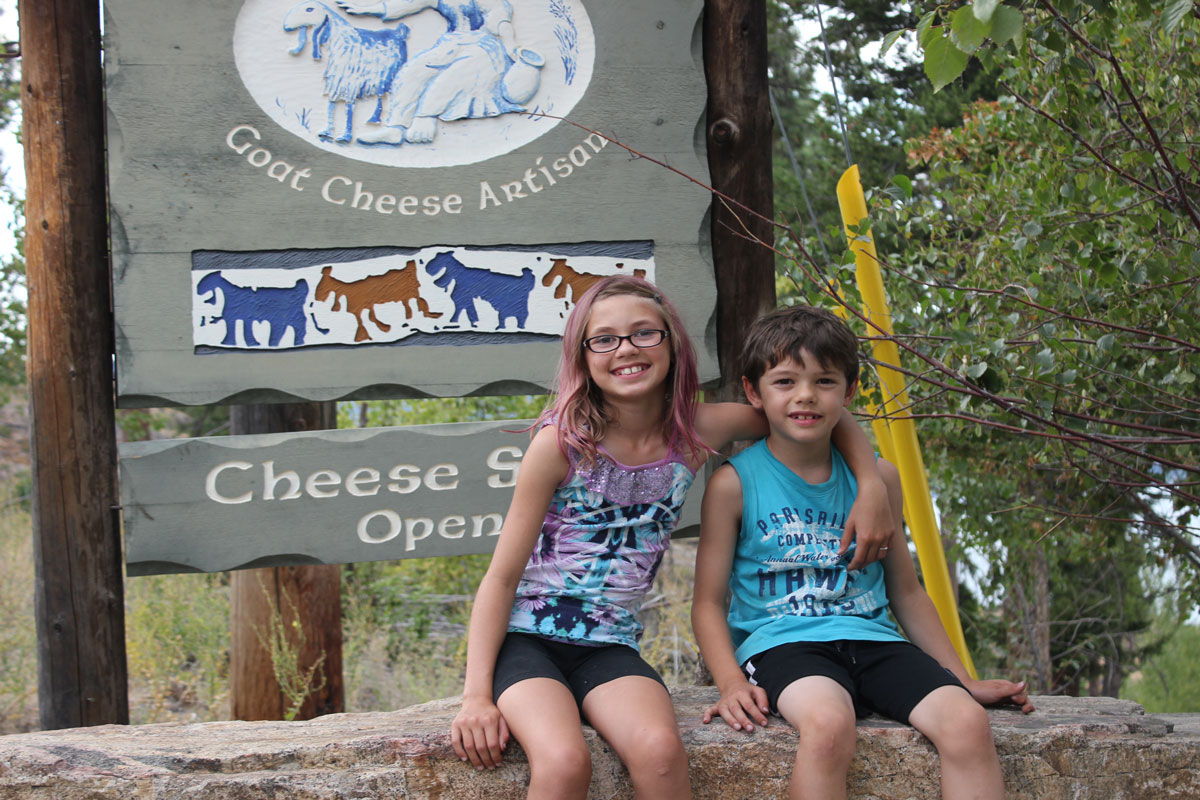 Visiting the Goat Cheese Farm