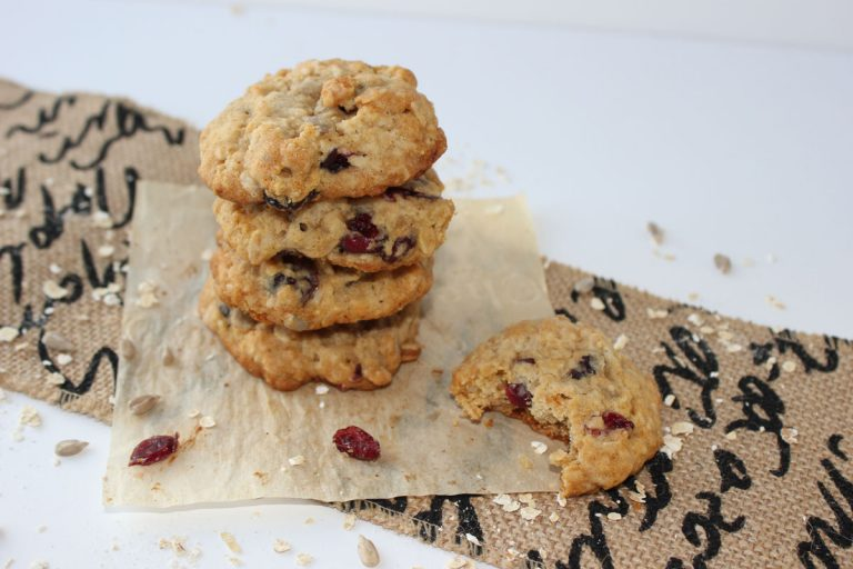 Honey Cranberry Cookies