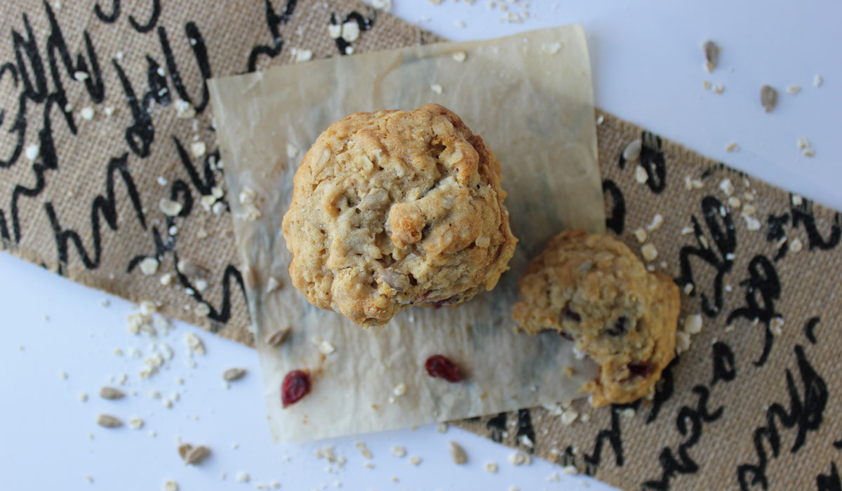 Honey Cranberrey Cookies