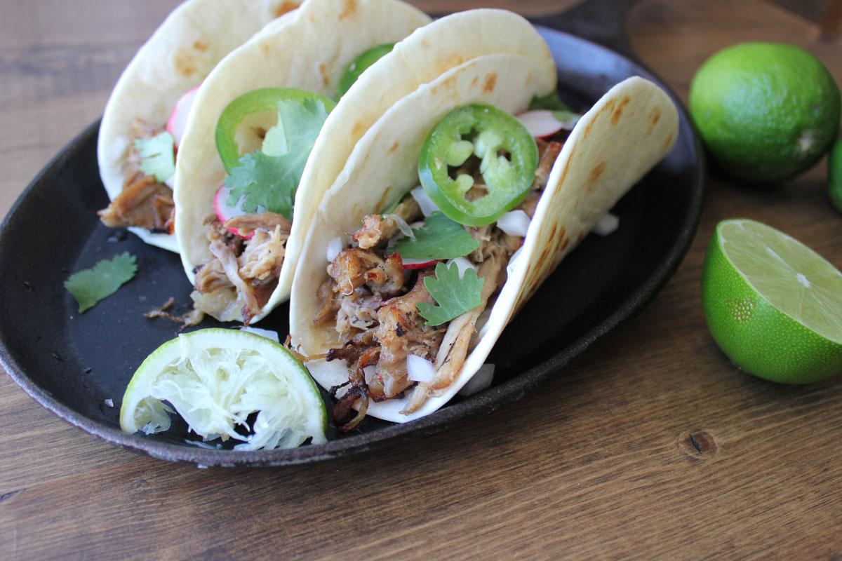 Pork Carnitas (Tacos)