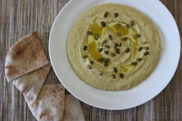 Ras el Hanout Hummus