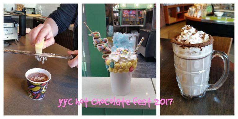 YYC Hot Chocolate Fest 2017