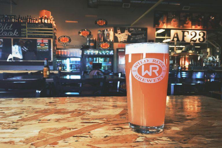 Wild Rose Brewery & Wild Tea Kombucha collaborate to debut Blushing Brew