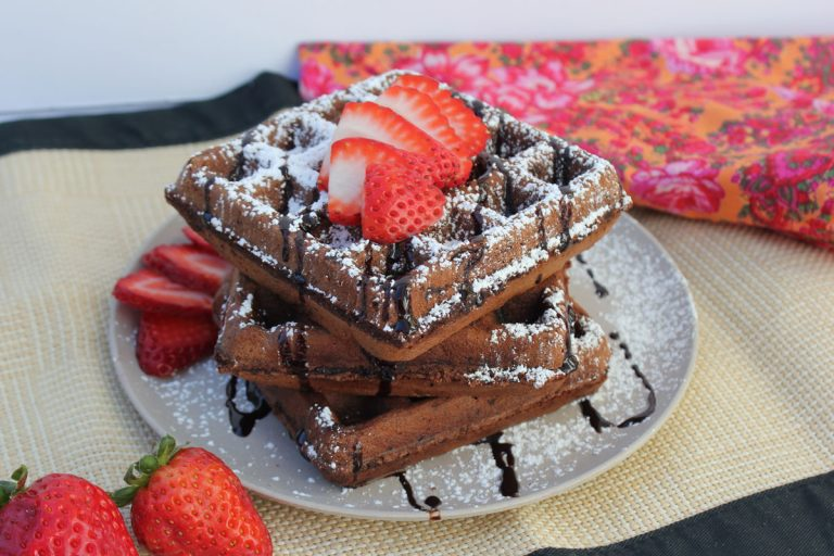 Hot Chocolate Waffles