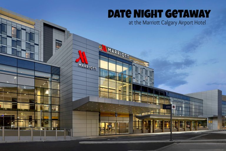Date Night Getaway at the Marriott Calgary Airport Hotel