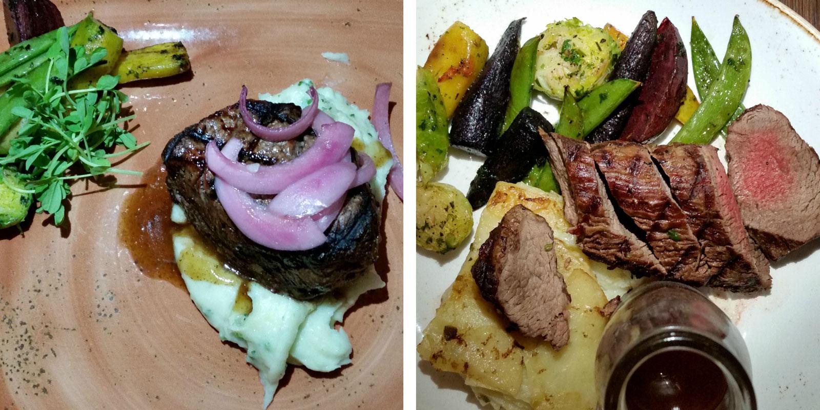 Yakima Social Kitchen & Bar Entrees