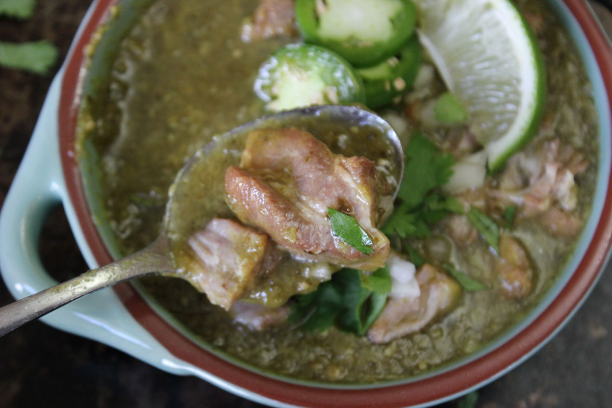 Chile Verde with Pork