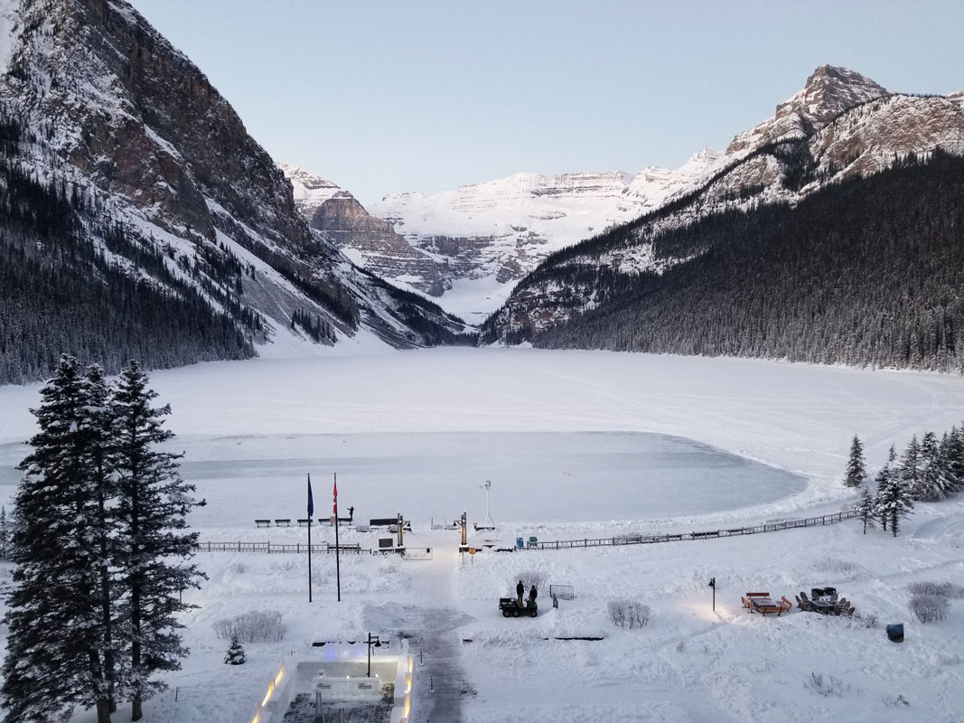 Lake-Louise-View from window