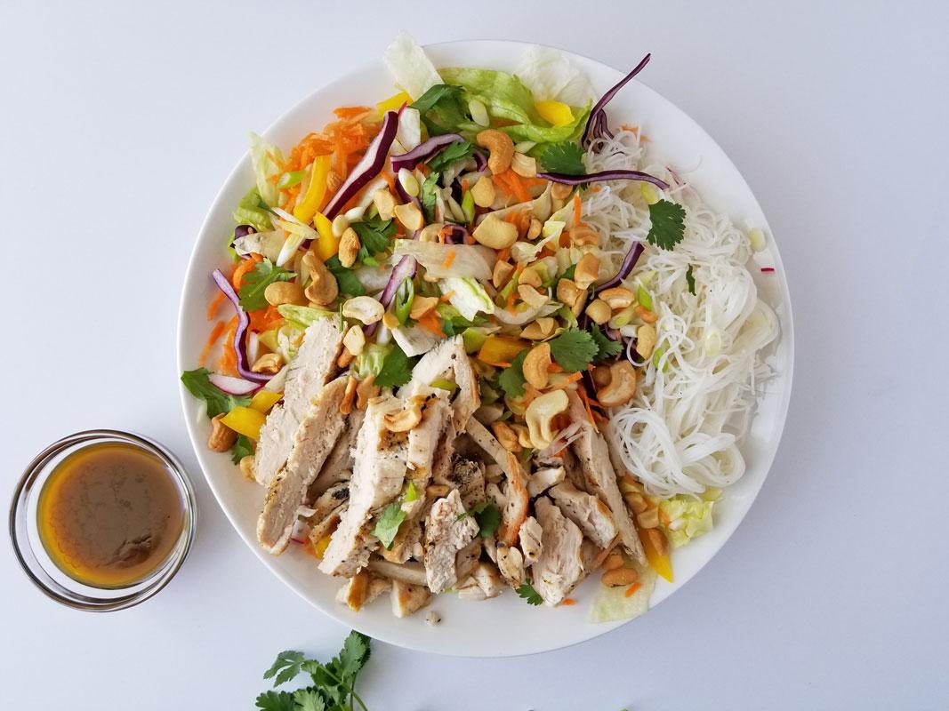 Crunch Asian Chicken Salad