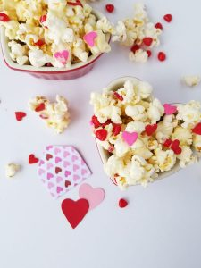 Cinnamon Hearts Popcorn Crunch