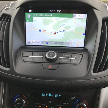 Ford Cmax dash