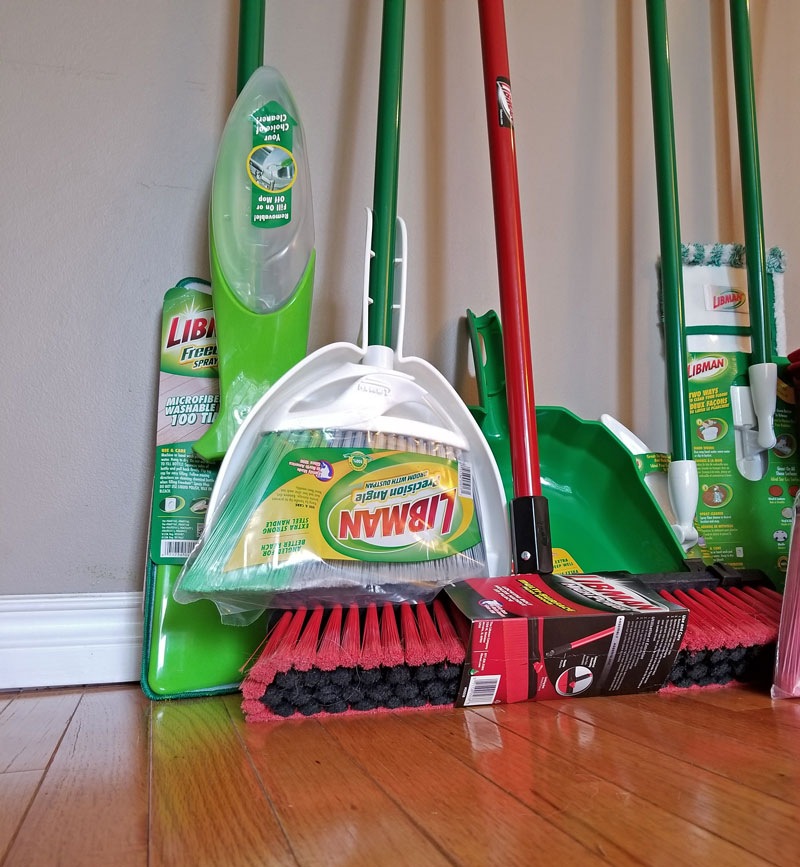 Libmans Floor Cleaning Prize Pack