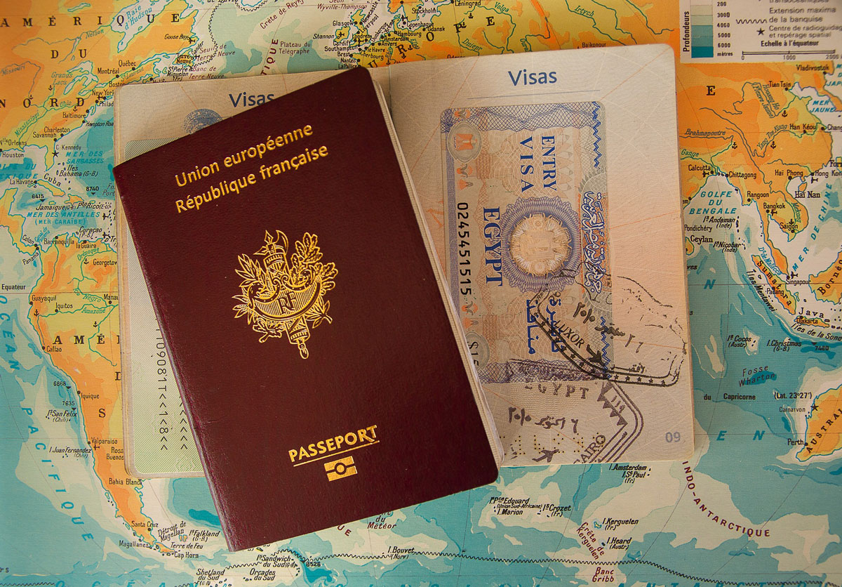 Ensure Passports are current and you have visas if required
