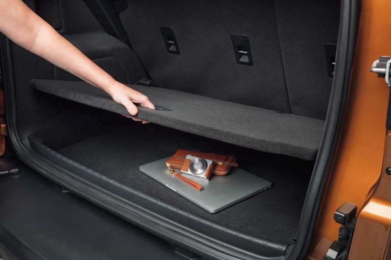 Ford EcoSport Cargo Area