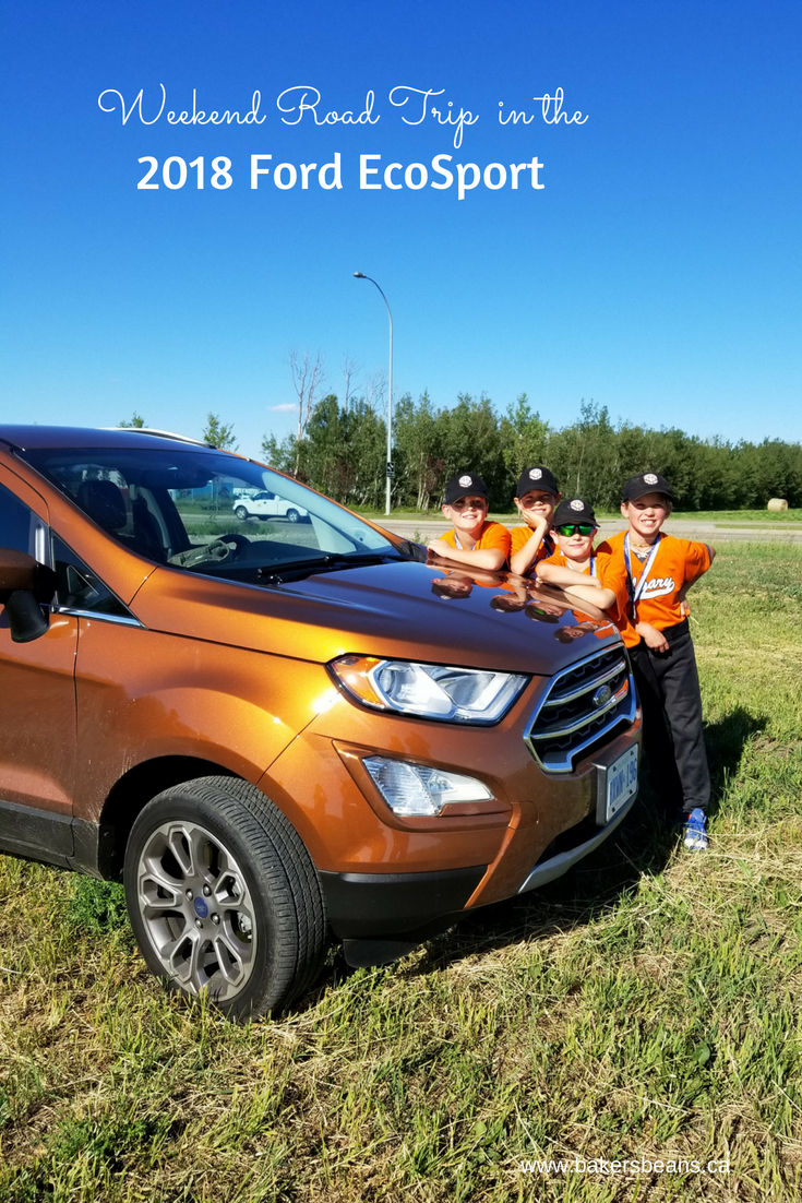 Weekend Road Trip in the 2018 Ford EcoSport #FordCanada #FordEcoSport #EcoSport #FordPartner
