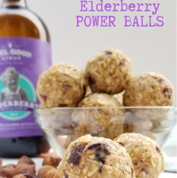 Cherry Hazelnut Elderberry Power Ballsg