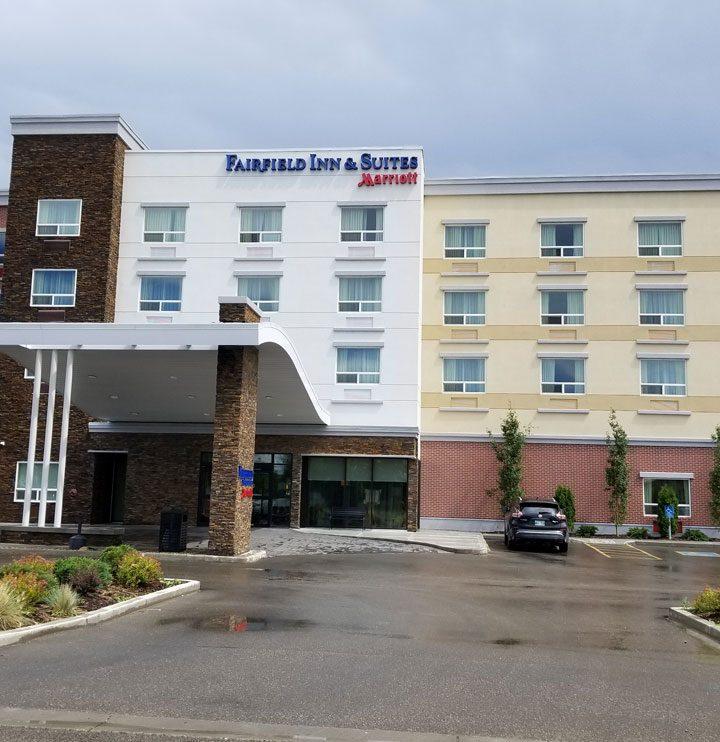 Fairfield Inn & Suites Edmonton front