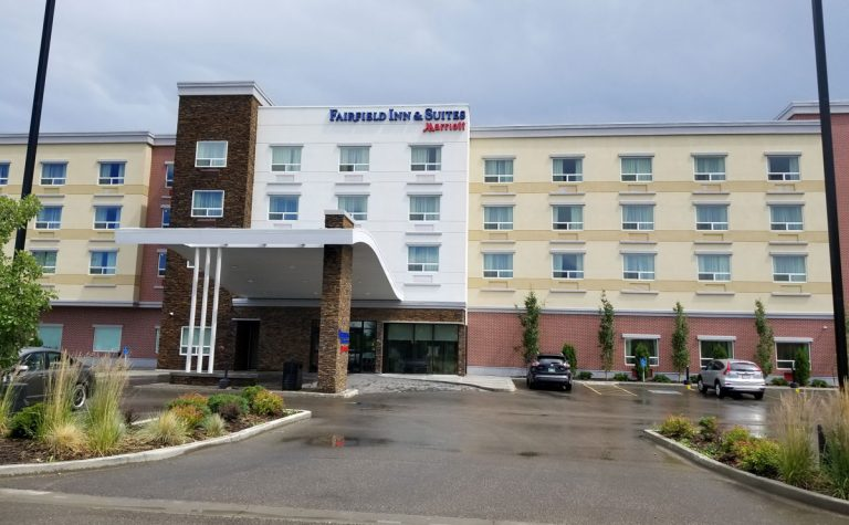 Fairfield Inn & Suites Edmonton front