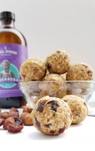 No Bake Elderberry Syrup Power Balls
