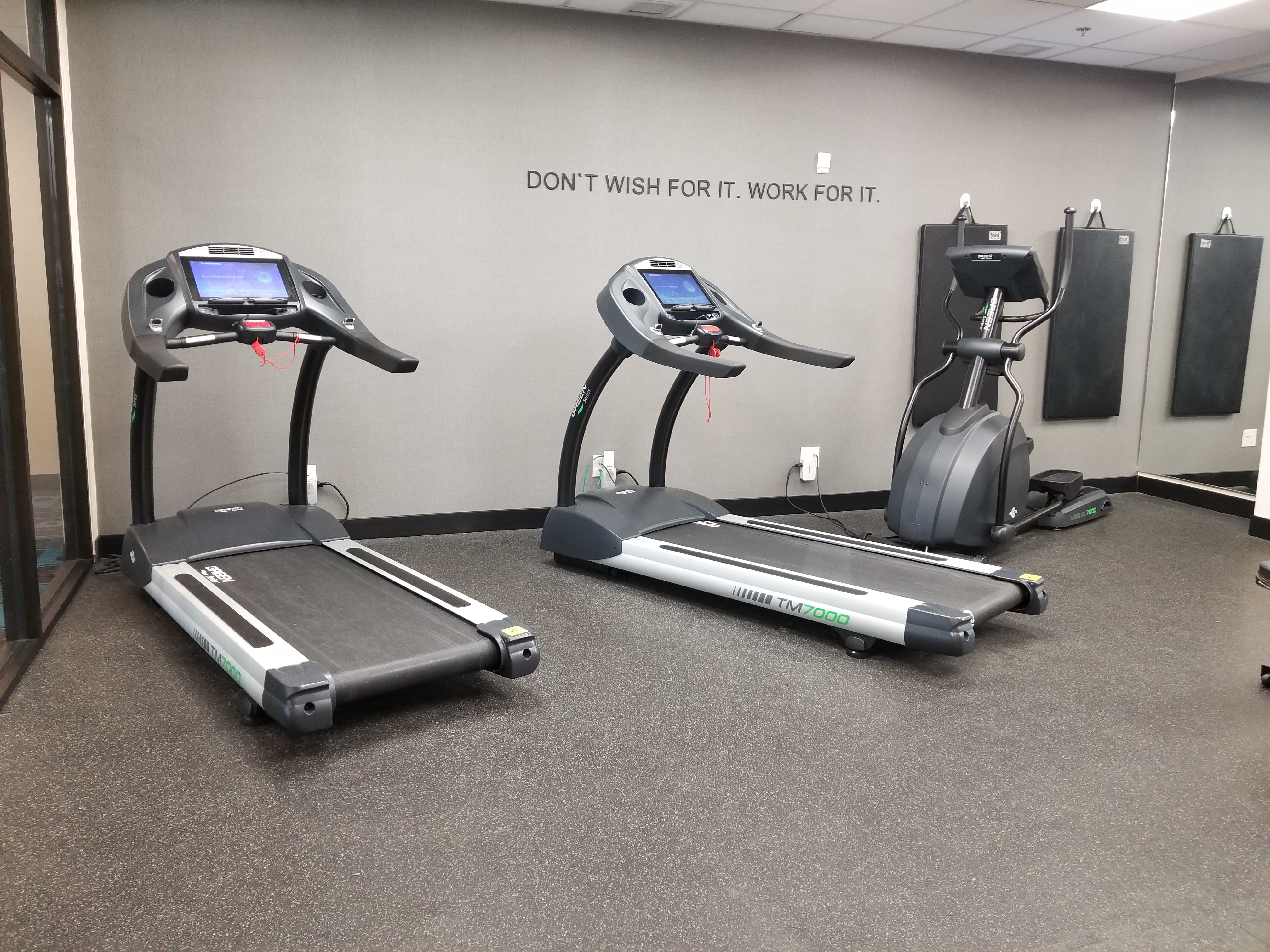 part of the fitness area