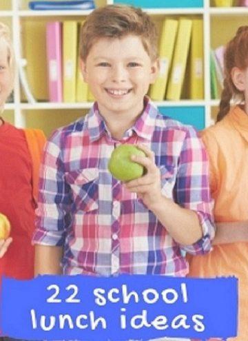 22 school lunch ideas