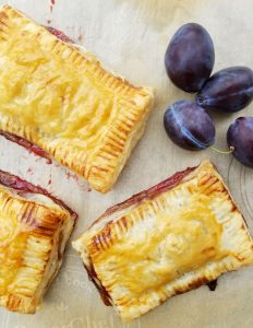 Plum Elderberry Syrup Hand Pies