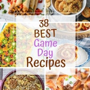 38 Game Day Recipes