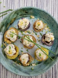 Double Stuffed Potato Stuffed Mushroom