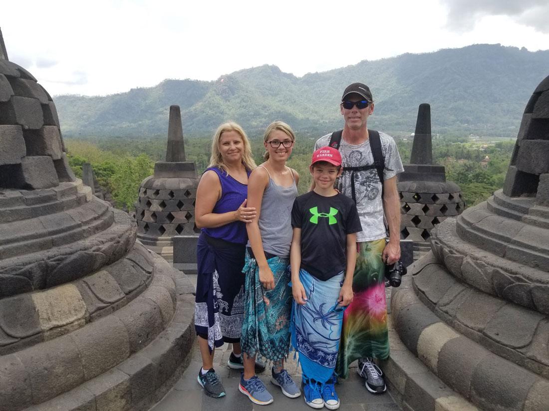 Baker Family Borobudur
