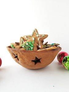 Christmas Gingerbread Bowl
