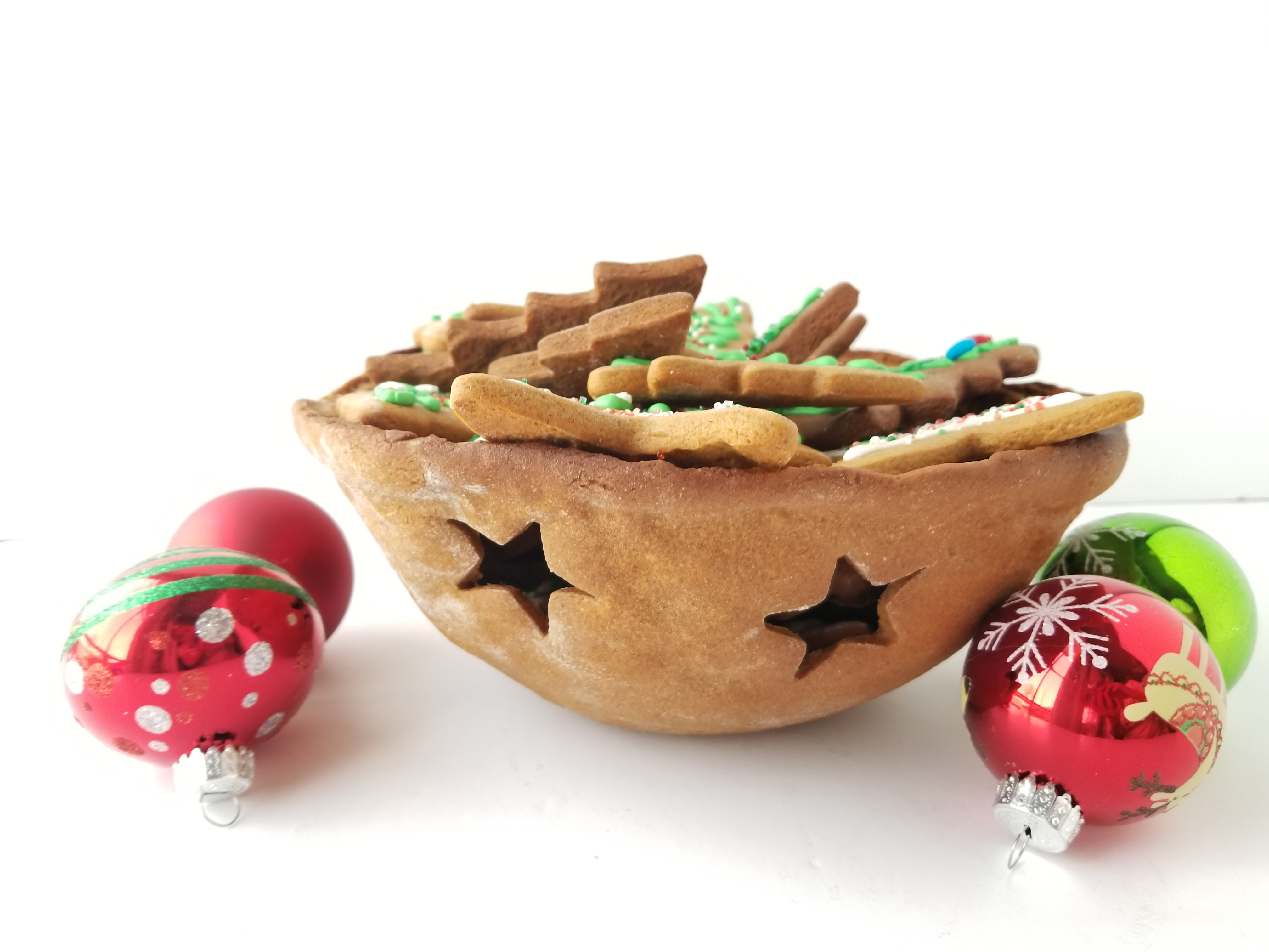 Christmas Gingerbread Bowl