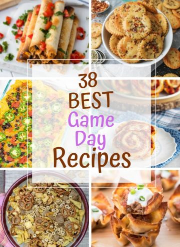 38 Best Game Day Recipes